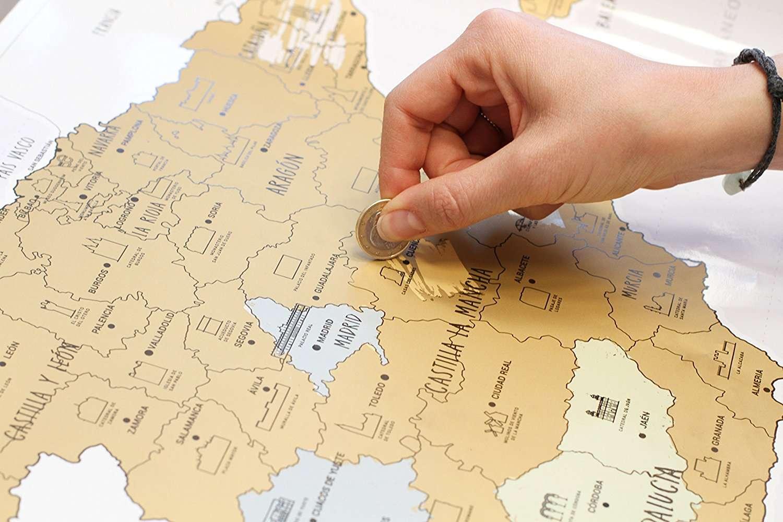 Mapas Para Rascar Y Otros Regalos Para Recordar Tus Viajes