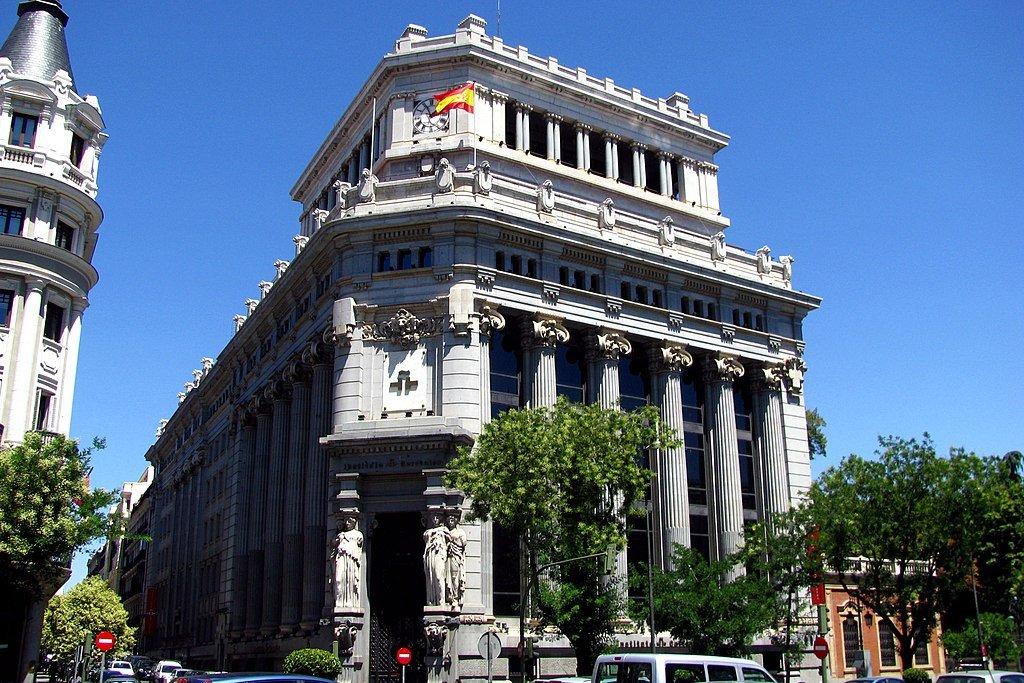 Edificio de las Cariátides en Madrid