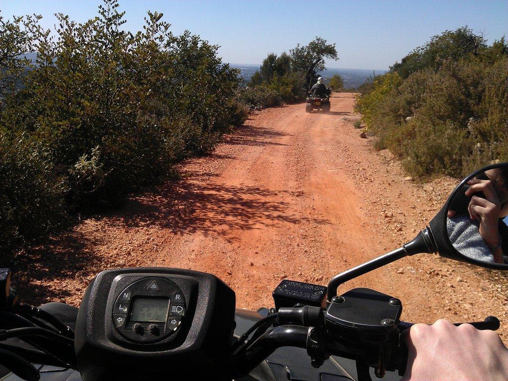 Paseos en quad en el Algarve