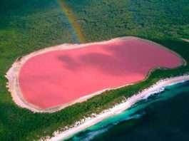 Lagos de colores en el mundo que no podrás creer