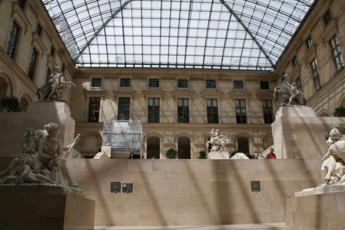 Los caballos de Marly en el Louvre