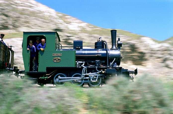 Locomotora de vapor Arganda