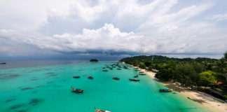 Koh Lipe está en el mar de Andamán.