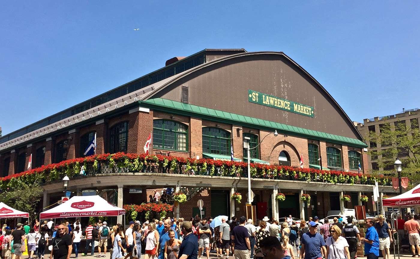Mercado de St. Lawrence en Toronto