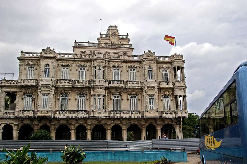 Embajada española en La Habana