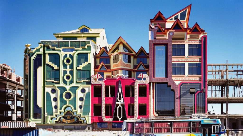 La arquitectura de Freddy Mamani