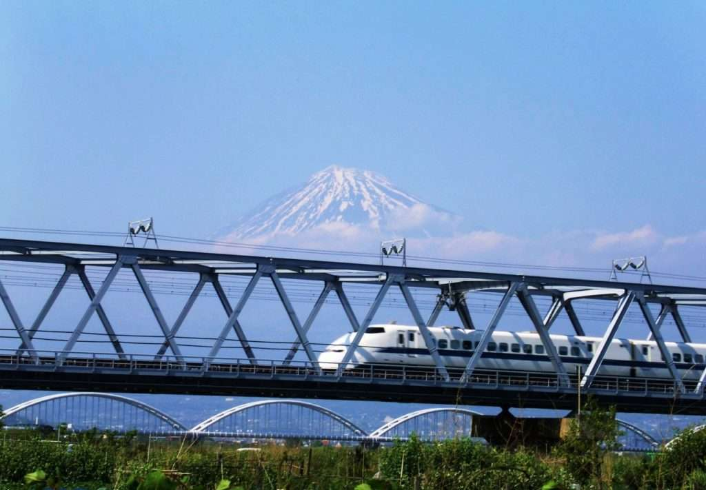 """Shinkansen o """"tren bala"""""""
