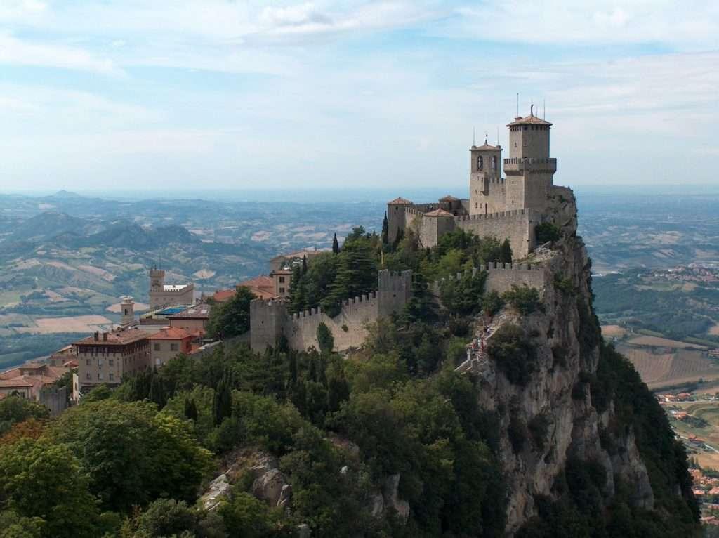 Las torres de San Marino.