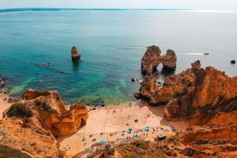 Las playas más bonitas del Algarve portugués