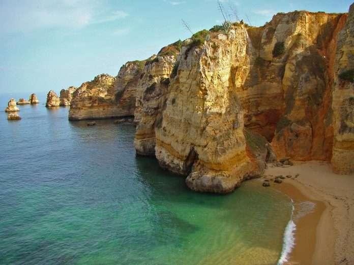 Praia Dona Ana en Lagos (Algarve)