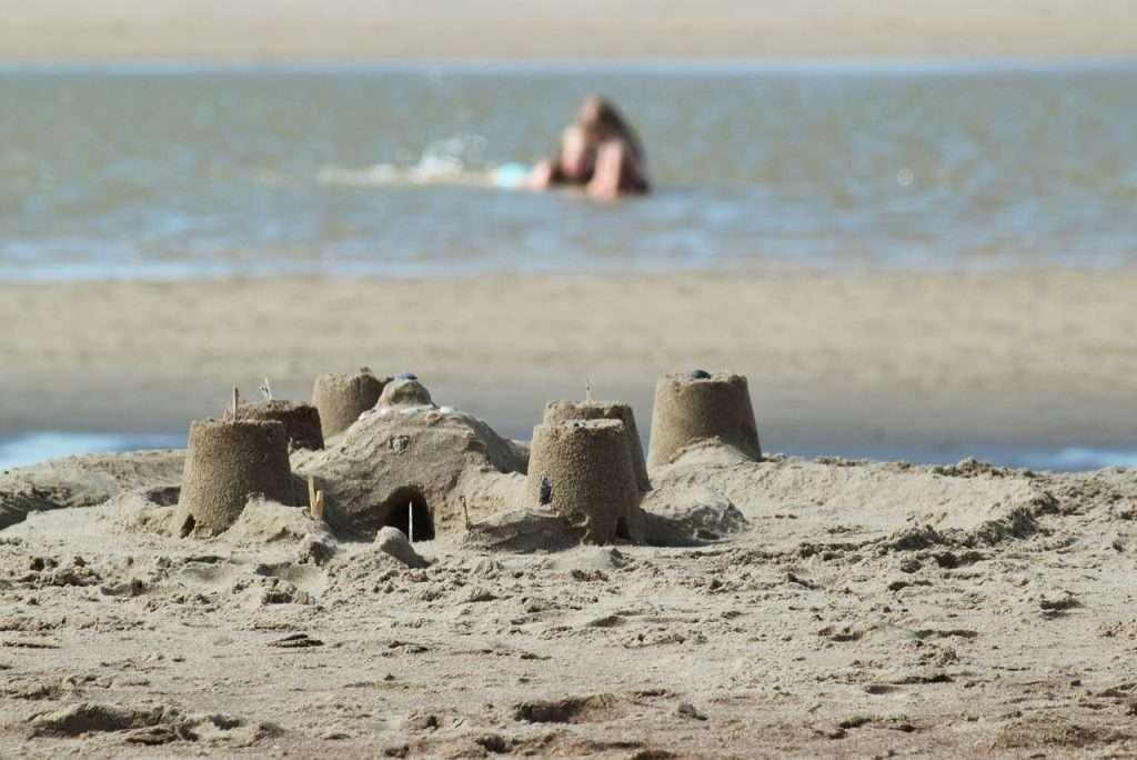 castilllos en las playas