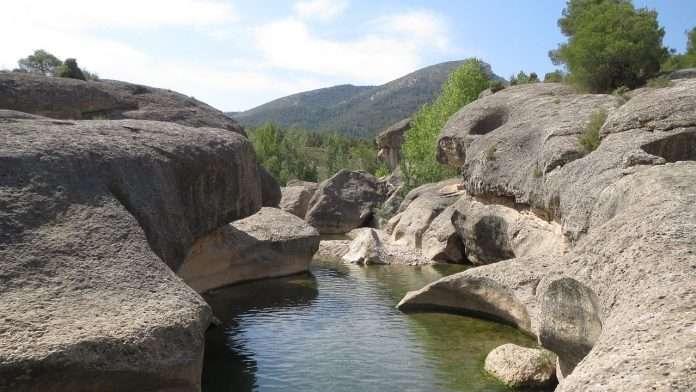Pozas del río Bergantes