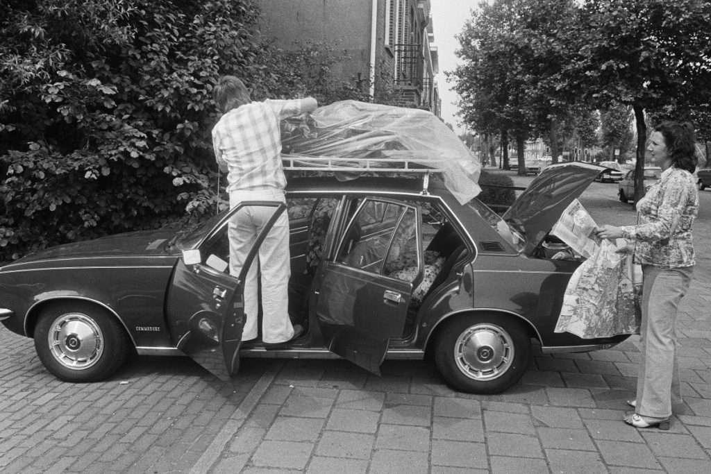 ¿Recuerdas cómo viajábamos en los 80?