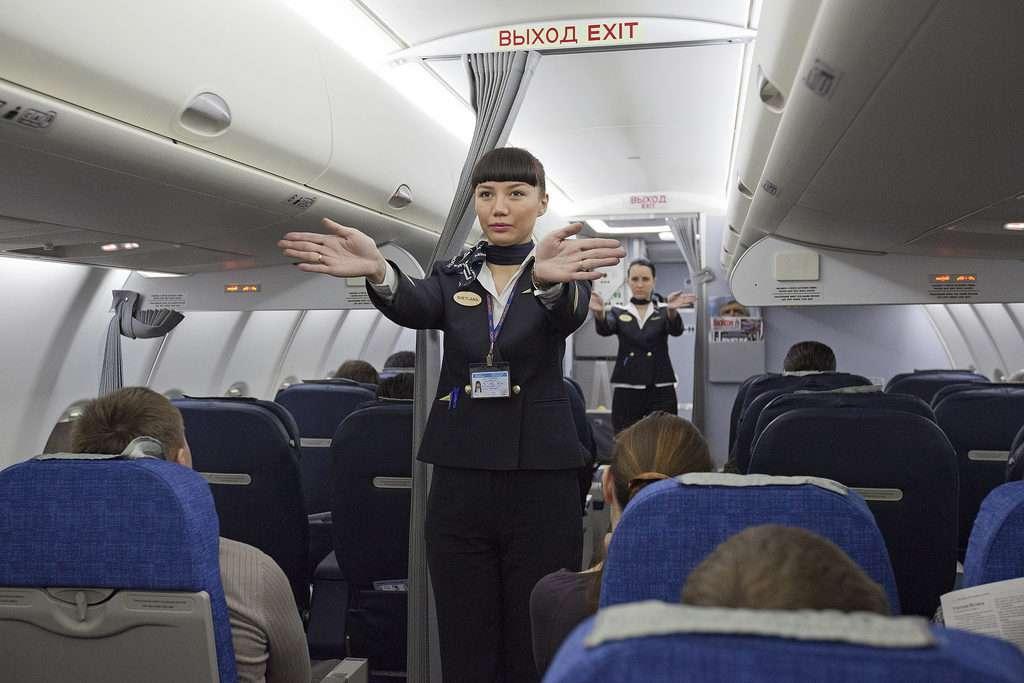 Protocolo de seguridad en los aviones