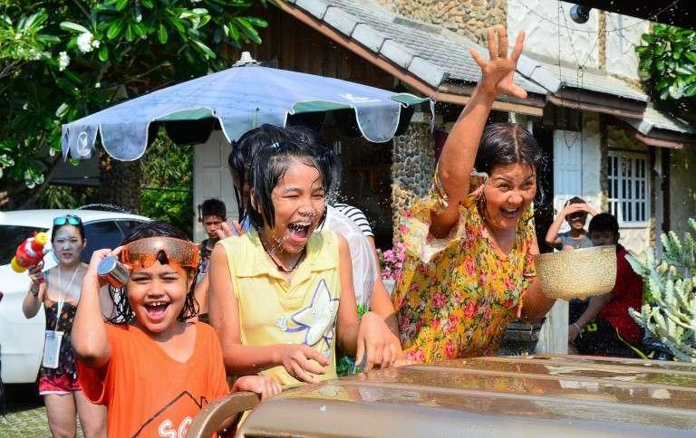 Songkran en Tailandia, el año nuevo budista