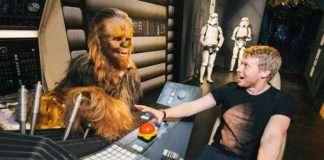 Exposición de Star Wars en el museo Madame Tussauds
